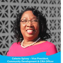 Celeste Spivey - Vice President, Community Development & CRA Officer-1