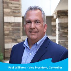 Paul Williams - Vice President, Controller