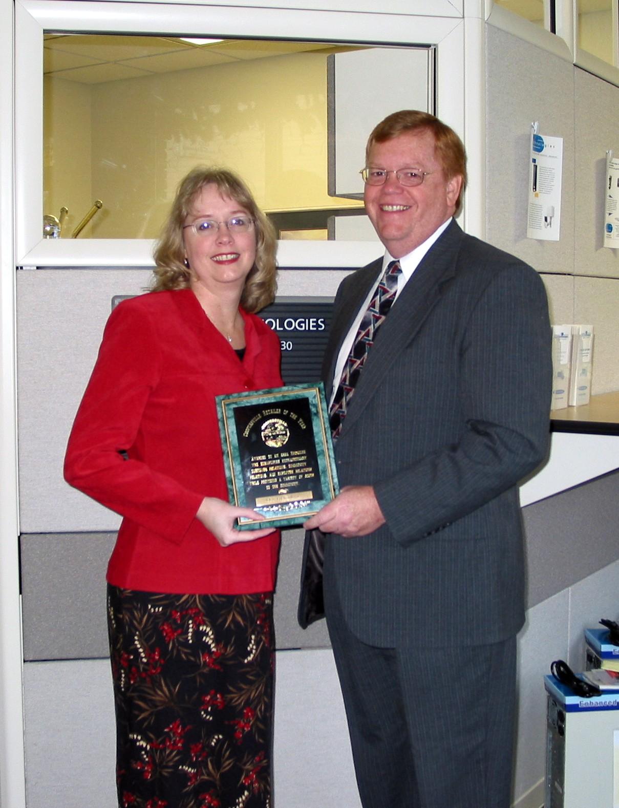 Retailer of the Year-Greg and Ellen Slater